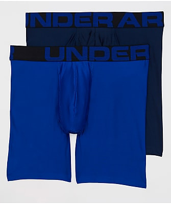 Under Armour UA Tech 6'' Boxerjock Boxer Brief 2-Pack