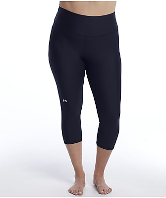 Under Armour Plus Size High-Waist Capri Leggings