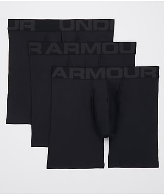 Under Armour Tech 6'' Boxerjock Boxer Brief 3-Pack
