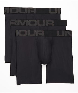 Under Armour Tech 6'' Boxerjock Boxer Brief 3-Pack