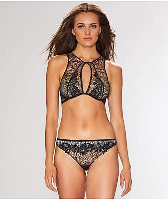 Unveiled by Felina Candy High Neck Bralette