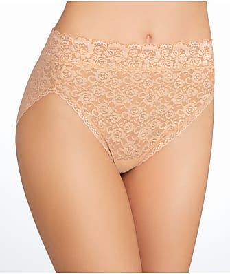 Vanity Fair Flattering Lace Hi-Cut Brief