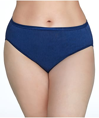 Vanity Fair Plus Size Illumination Hi-Cut Brief