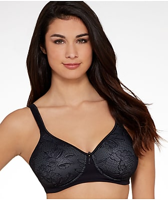 Vanity Fair Body Caress Wire-Free Convertible Lace Bra