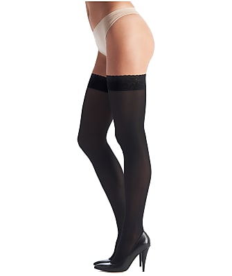 Oroblu Chic Up Opaque Thigh Highs