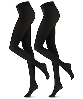 Oroblu Twin Microfiber Opaque Tights 2-Pack