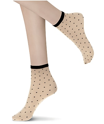 Oroblu Twin Dotty Socks 2-Pack