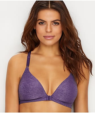 Warner's Play It Cool Wire-Free Front-Close T-Shirt Bra