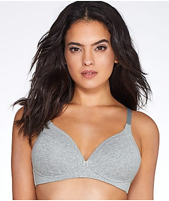 Warner's Invisible Bliss Wire-Free Cotton Bra