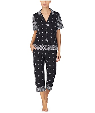 DKNY Vintage Fresh Knit Capri Pajama Set