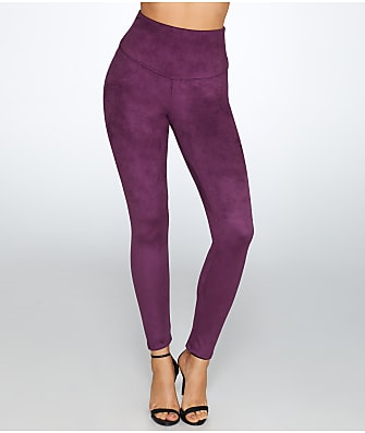 Yummie Medium Control Faux Suede Leggings