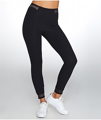 Yummie Medium Control Stripe Elastic Leggings