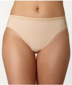 OnGossamer Cabana Cotton Hi-Cut Brief