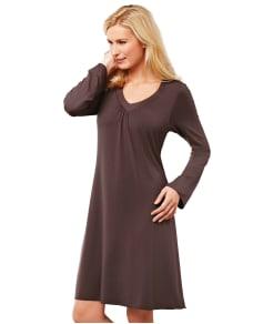 Amoena Matte Shiny Modal Shelf Bra Nightdress