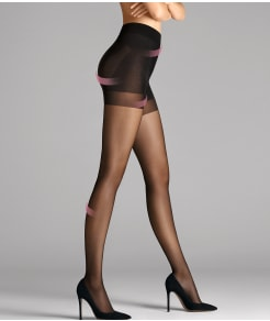 Wolford Pure 30 Denier Complete Support Control Top Pantyhose