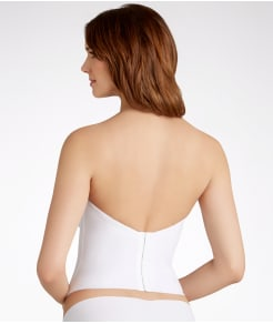 Va Bien Low Back Strapless Bustier