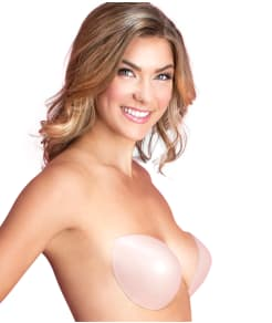 Fashion Forms Backless Strapless Plunge Push-Up Bra