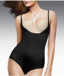 Maidenform Comfort Devotion Firm Control Open-Bust Bodysuit