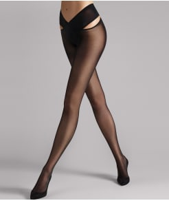 Wolford Individual 12 Denier Stay-Hip Pantyhose
