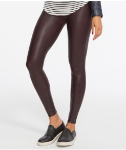 SPANX Ready-to-Wow Faux Leather Shaping Leggings