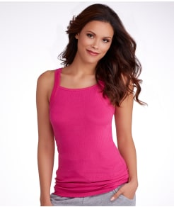 2(x)ist Square Cut Ribbed Tank