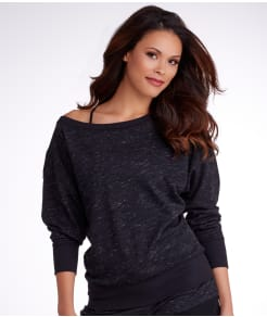 2(x)ist French Terry Drop Shoulder Sweatshirt