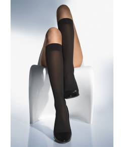Wolford Velvet de Luxe Knee Highs