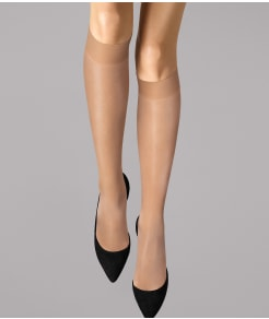 Wolford Satin Touch Knee Highs