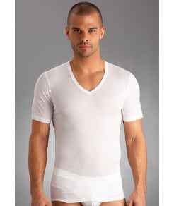 Hanro Cotton Pure V-Neck T-Shirt