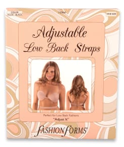 Fashion Forms Adjustable Low Back Convertible Strap