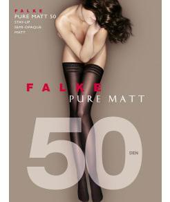 Falke Pure Matte Opaque Thigh Highs