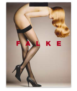 Falke Back Seam Thigh Highs