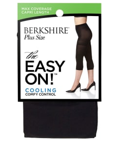 Berkshire Easy On Cooling Control Top Capri Plus Size