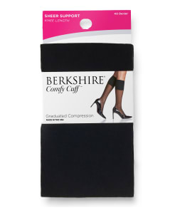 Berkshire Sheer Support Knee Highs