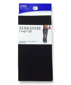 Berkshire Opaque Support Knee Highs