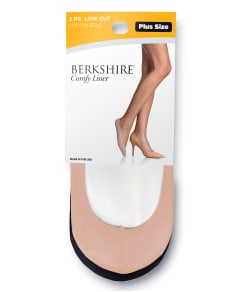Berkshire Cotton Shoe Liner Extended Sizes 2-Pack