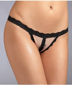 Hanky Panky After Midnight Crotchless G-String