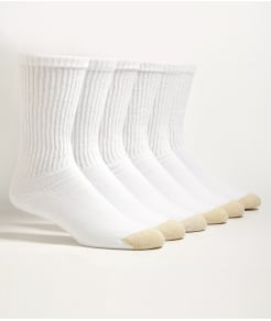 Gold Toe Crew Sport Socks 6-Pack