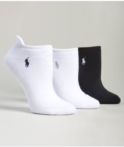 Ralph Lauren Heel Tab Low-Cut Socks 3-Pack