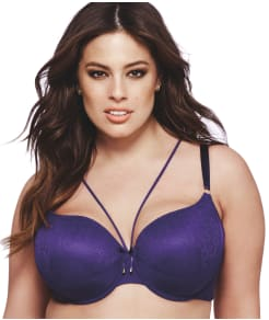 Ashley Graham Icon Convertible Lace T-Shirt Bra