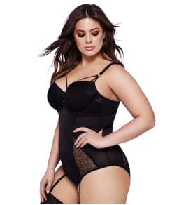 Ashley Graham Lace Teddy