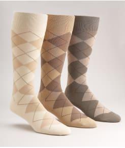 Polo Ralph Lauren Argyle Cotton Crew Socks 3-Pack