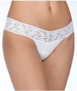 Hanky Panky Cotton Organic Low Rise Thong 3-Pack