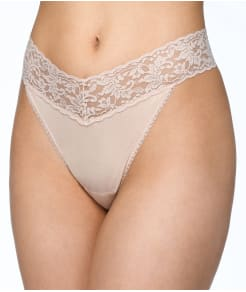Hanky Panky Cotton Organic Original Rise Thong 3-Pack