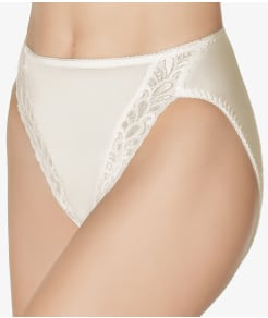 Wacoal Bodysuede Lace Leg Hi-Cut Brief