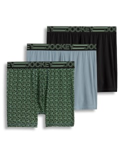Jockey Active Micro Stretch Midway® Boxer Brief 3-Pack