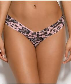 Hanky Panky Pretty Leopard Low Rise Thong