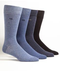 Calvin Klein Knit Crew Socks 4-Pack