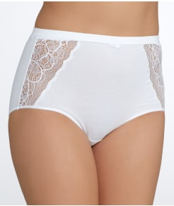 Bali Cotton Desire Lace Brief