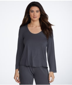 Barefoot Dreams Luxe Jersey Knit Sleep Top
